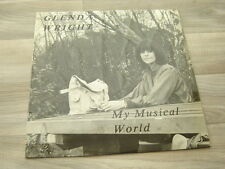 private LP synth UK 80s FEMALE VOCALS pop *EX+* rock GLENDA WRIGHT Musical World