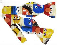 (1) BOW TIE- SESAME STREET-BERT, ERNIE, GROVER, ELMO, COOKIE MONSTER & BIG BIRD
