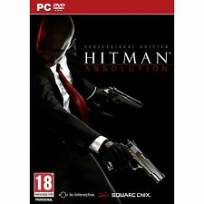 HITMAN ABSOLUTION PROFESSIONAL EDITION PC DVD SEALED NEW