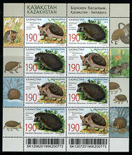 2012 Kazakhstan. Fauna. Hedgehogs. Joint issue with Belarus. MNH. Sheet/Pane