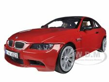 BMW M3 E92 COUPE RED 1:18 DIECAST MODEL CAR BY MOTORMAX 73182