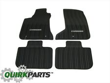 2011-2016 Dodge Charger AWD ALL SEASON RUBBER FLOOR SLUSH MATS SET OEM MOPAR NEW