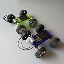 DIY Lite Mini solar car Toy small production technology Handmade Mini car model