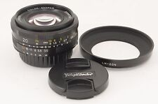 Voigtlander Color Skopar 20mm f/3.5 Asph MF SL II Lens For Nikon [NEAR MINT]@770