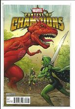 Contest Of Champions # 3B (Lim Connecting Variant, Feb 2016), NM NEW