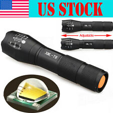 Tactical 5000Lumen Cree T6 G700 X800 Rechargeable Led Flashlight Torch Zoom Lamp