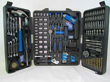 Mechanics 165 Pc Tool Kit W/ Pliers Wrenches Sockets Case WITH BROKEN CASES