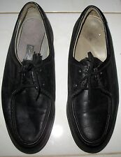 CALIFORNIA SQUASH by ROCKPORT - SOFT BLACK LEATHER UPPER & LINING SHOES  10.5 W