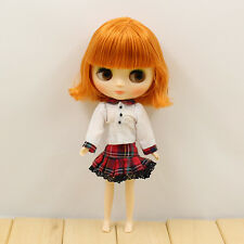 "8"" Neo Middie Blythe Doll Short Hair Nude Doll from Factory JSW9007+Gift"