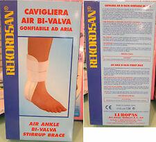 Cavigliera Bivalva aria Scudotex misura unica air ankle bi-valva stirrup brace