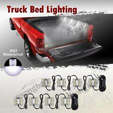 8pc Waterproof Pickup Truck Bed Light Kit LED Lighting Accessories Ultra Bright
