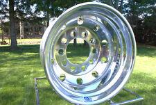 ALCOA TRAILER 17.5 x 6.75  FORGED WHEEL 10 lug  ball seat POLISHED 663072 LOWBOY
