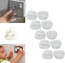 6x Plug Socket Cover Baby Proof Child Safety Protector Guard Mains Electrical UK