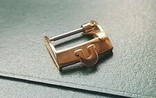 NEW 16MM OMEGA GOLD PLATED BUCKLE. (B12)