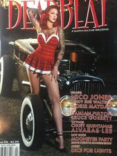 DEADBEAT MAGAZINE #25 VTG HOT ROD PINUP TATTOO ART KULTURE RAT CUSTOM