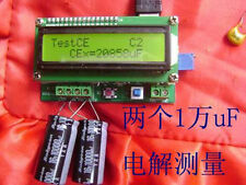 High-precision inductance and capacitance meter tester LC compact and practical