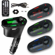 Top MP3 Player Wireless FM Transmitter Modulator Car Kit & USB SD MMC LCD Remote