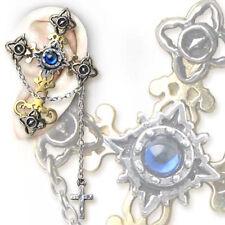 TORQUEMADA CROSS-TEGERE- ALCHEMY GOTHIC earring ohrschmuck ohrstecker esoterik