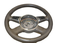 *AUDI A8 MK2 D3 04-07 3 SPOKE LEATHER MULTIFUNCTION STEERING WHEEL 4E0419091AC