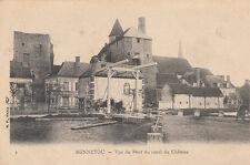MENNETOU-SUR-CHER 2 vue du pont du canal du château