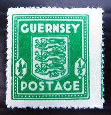GB GUERNSEY 1941 German Occupation ½d Arms RARE Blue/Green SEE BELOW FP8286 u/m