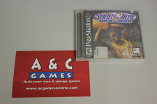 NBA Show Time NBA on NBC Sony PlayStation 1 New Sealed (Minor Wrap damage)