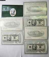 3 District Set 1999 Matching Low Serial Number $10 Federal Reserve Notes 5207