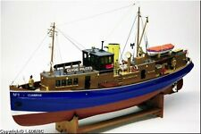 "Genuine, brand new Caldercraft wooden model ship kit: the ""Cumbrae"""