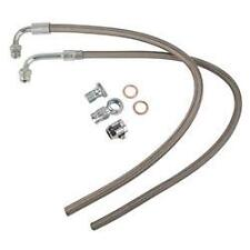 Braided Stainless Steel Power Steering hose kit chevy Gm chevrolet pre 1979