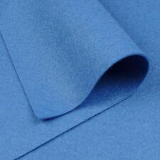 """9 """"x18"""" noruego Azul Fieltro De Lana Tejido / Quilting Tarjeta Brillante Toy Doll Making"""