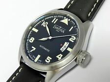 Davosa Military Mens automatic with lumiinous hands pre owned Swiss