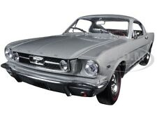 1966 FORD MUSTANG 2+2 GT FASTBACK SILVER FROST 1/24 MODEL BY M2 40300-49D