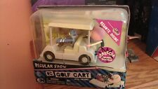 NEW REGULAR SHOW Remote Control RC GOLF CART Toy Car Mordecai Rigby Pops TRU 80s