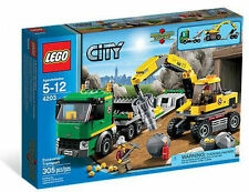 LEGO 4203 Lego City EXCAVATOR TRANSPORT Legos City Town #4203 New in Box