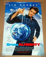 BRUCE ALMIGHTY AUTOGRAPHED 40X27 ROLLED O/S MOVIE POSTER - SIGNED BY JIM CARREY