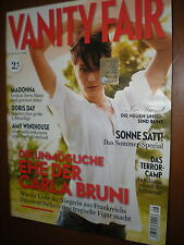 Vanity Fair DE.CARLA BRUNI,AMY WINEHOUSE, MADONNA & GUY RITCHIE,DORIS DAY,iii