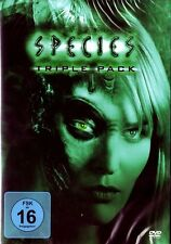 SPECIES 1-3, Triple Pack (Natasha Henstridge) 3 DVDs NEU+OVP