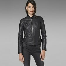 VESTE SLIM FEMME G-STAR  CHOPPER SLIM JACKET SIMILI CUIR / IMITATION LEATHER  L