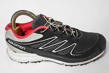 Salomon Running Shoes Black Size 8 Women's