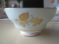 VINTAGE SHELLEY GREEN PEONY SUGAR BOWL