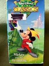 2 Walt Disney Mini Classics Mickey and the Beanstalk & The Prince and the Pauper