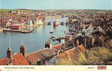 B103682 whitby harbour from khyber pass ship bateaux    uk