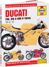HAYNES Repair Manual - Ducati 748, 916 and 996 V-Twins (1994-2001)