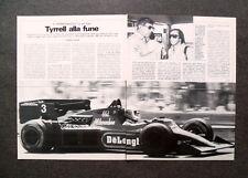 [GCG] AN59 - Clipping-Ritaglio -1984- IL PERSONAGGIO , KEN TYRRELL