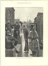 1890 Nueva llegada subalternos militares vida cantón Woodville