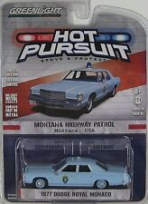 GreenLight Hot Pursuit Series 19 - 1977 DODGE ROYAL MONACO - MONTANA HIGHWAY PAT