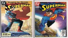 Superman #204 & 205 by Jim Lee, Michael Turner, Signed by Peter Steigerwald WCOA