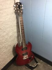 SVK SG Made In China L09102044 Red Electric Guitar