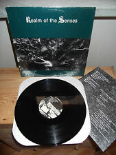 "FRIENDS OF GHOSTS ""Realm Of The Senses"" LP AURELIA USA 1986 - INSERT"