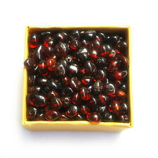 Baltic amber loose beads 100 pcs cherry